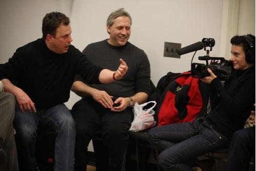Brooks Ashmanskas and Peter Ellenstein