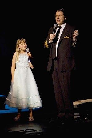 Bindi Irwin and John Travolta
