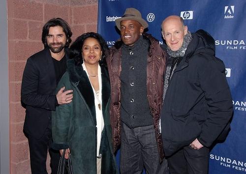John Stamos, Phylicia Rashad, Kenny Leon and Neil Meron  at 'A Raisin in the Sun' Premieres at Sundance