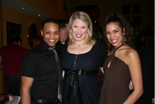 Michael Dexter (Ethan), Heather Jane Rolff (Alison Carmichael) and Lakisha Anne Bowen (Meghan)