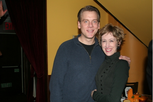 Chris Vettel (Mr. Lemmings) and Valerie Wright (Mrs. Dingleberry)