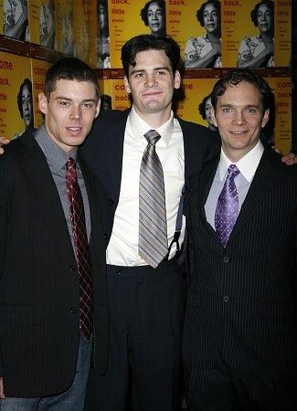 Brian J. Smith, Daniel Damon Joyce and Chad Hoeppner  Photo