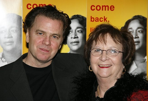 Kevin Anderson and Jean Inge (niece of playwright William Inge)