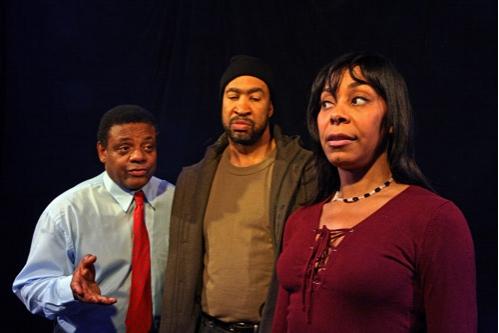l-r: Harvy Blanks, John Marshall Jones and Trish McCall Photo