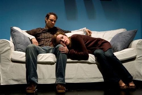 Jonathan Walker and Christa Scott-Reed Photo