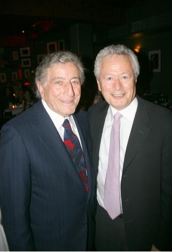 Tony Bennett and Steve Sorokoff