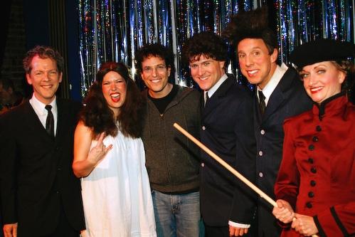 David Caldwell, Valerie Fagan, Michael Mayer, Jared Bradshaw Photo
