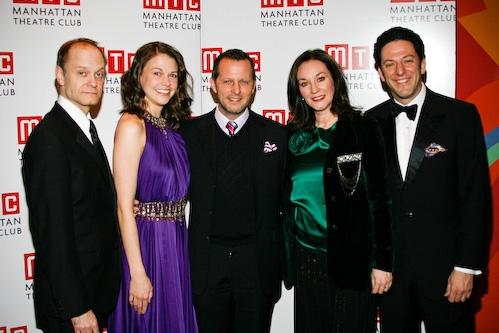 David Hyde Pierce, Sutton Foster, Rob Ashford, Jessica Molaskey, and John Pizzarelli