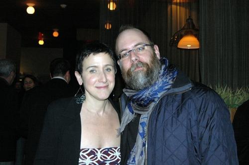 Susan Fenichell (Director) and David Zin (scenic and Costume Desigh)