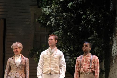 Beth Dixon (Aunt Ev), Will Fowler (James Keller), Jordan Barrow (percy)