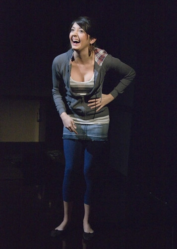 Amanda Perez at 'The Little Dog Laughed' at Theater Works Hartford