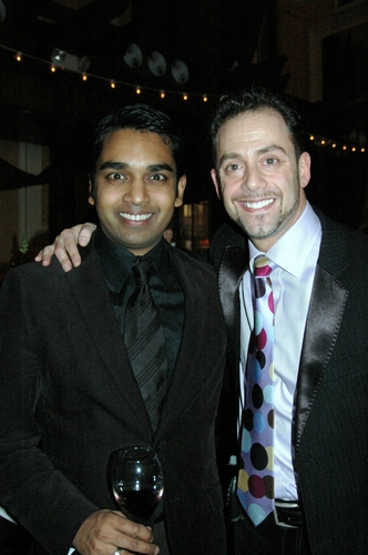 Devand Janki (Choreographer of WPPAC's Man of La Mancha) and Bruce Robert Harris (Associate Producer)