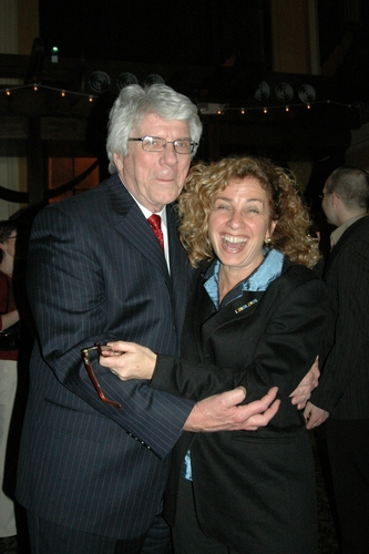 Jack W. Batman (Executive Producer) and Eleanor Reissa (Director of WPPAC's up-coming How to Succeed In Business)