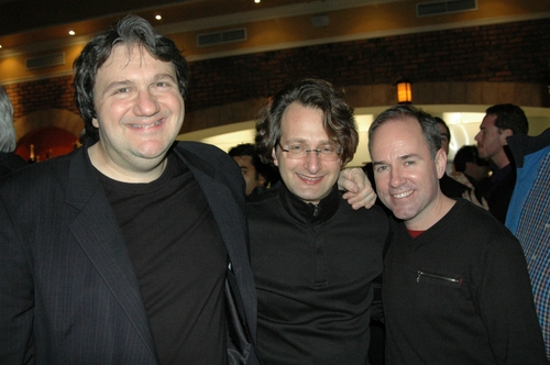 James Bassi (Musical Director), Steven Gross (Pianist) and Stephen Flaherty Photo