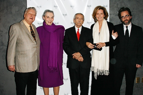 Brian Murray, Marian Seldes, Edward Albee, Jordan Baker and Michael Rhodes