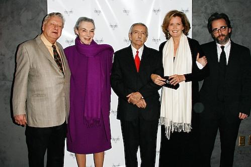 Brian Murray, Marian Seldes, Edward Albee, Jordan Baker and Michael Rhodes