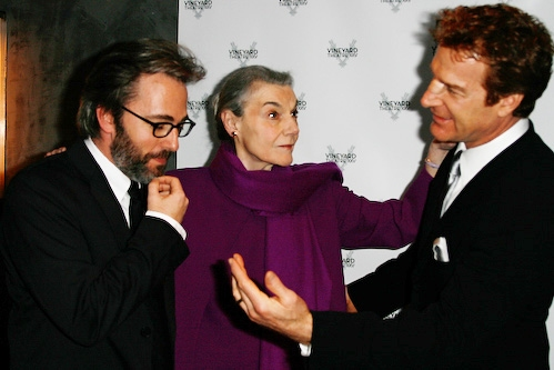 Michael Rhodes, Marian Seldes, and Kevin Kilner