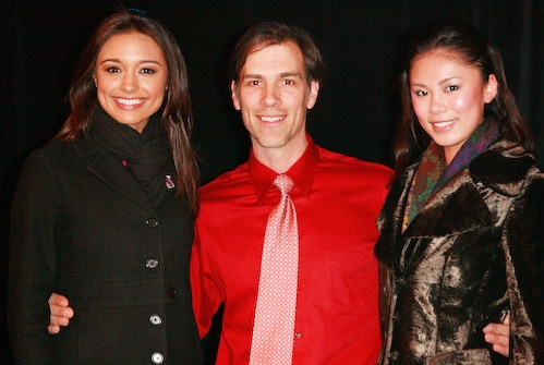 Angelo Fraboni with Miss USA and Miss Universe