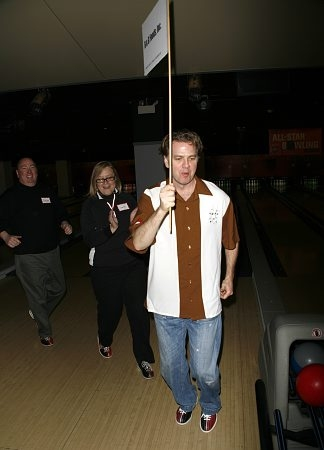 Kevin Anderson at Second Stage's 21st Annual All-Star Bowling Classic