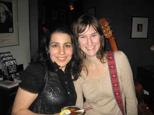 Julie Garnye and Phoebe Kreutz