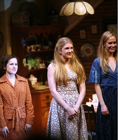 Jennifer Dundas, Lily Rabe and Sarah Paulson