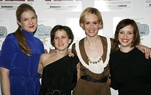 Lily Rabe, Jennifer Dundas, Sarah Paulson and Jessica Stone