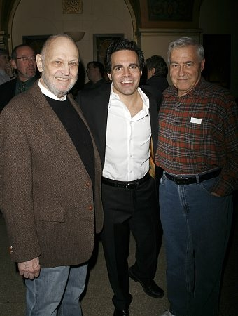 Charles Strouse, Mario Cantone and Lee Adams