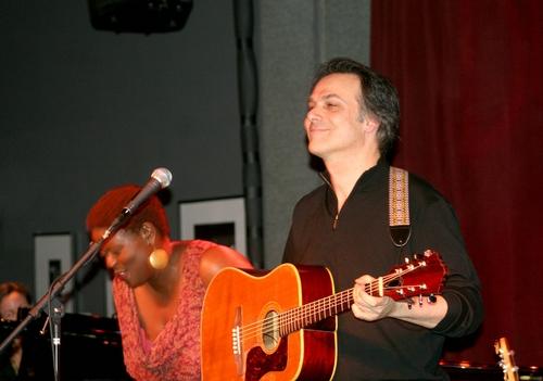 Capathia Jenkins and Louis Rosen