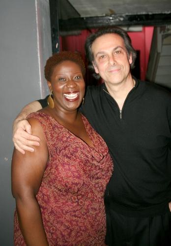 Capathia Jenkins and Louis Rosen Photo