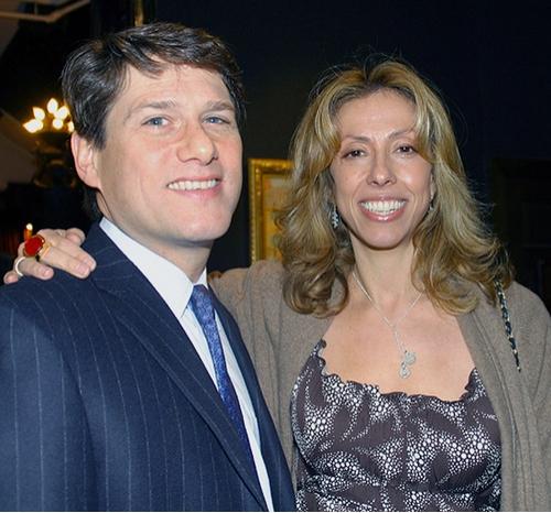 Amanda Green (right) and her husband Jeffrey Kaplan