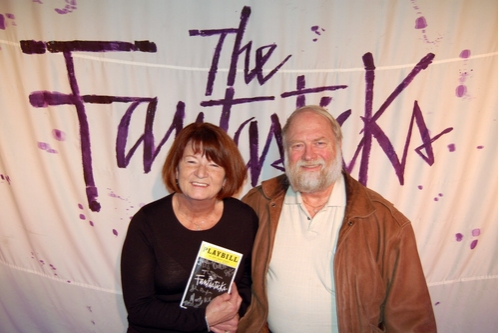 Bainie Wild and Larry Wild celebrated their Wedding Anniversary at The Fantasticks, where they first met on a blind-date 40 years ago