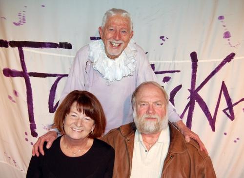 Tom Jones with Bainie Wild and Larry Wild