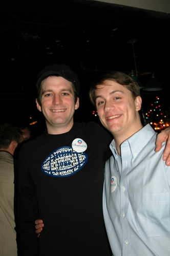 Producers Ryan J. Davis and Adam Wagner