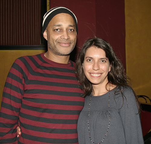Fred Carl (Miracle Brothers) and Sarah Stern