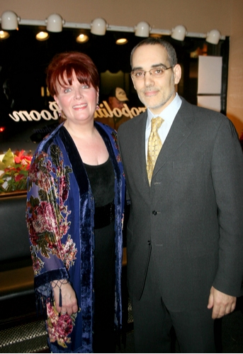 Maureen McGovern and owner of The Metropolitan Room, Chirs Mazzilli
