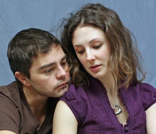 Jeremiah Maestas and Krista Amigone