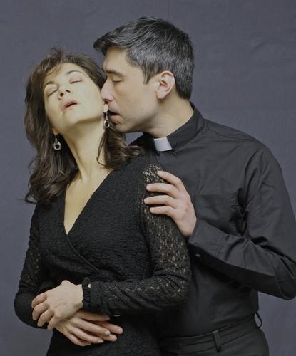 Dana Benningfield and John Haggerty at 'Questa' Begins 2/23 at Wings Theatre