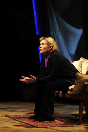 Carrie Fisher at Carrie Fisher in 'Wishful Drinking' at Berkeley Rep
