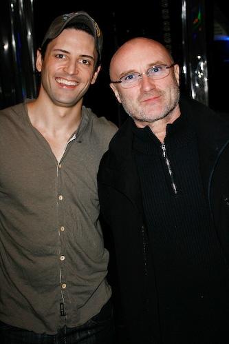 Phil Collins and Sean Palmer Photo