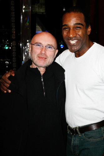 Phil Collins and Norm Lewis
