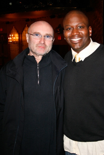 Phil Collins and Tituss Burgess Photo