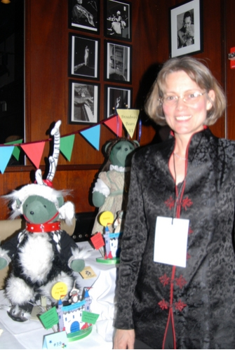 Nancy Palmatier, designer of Young Max at Broadway Bears 2008