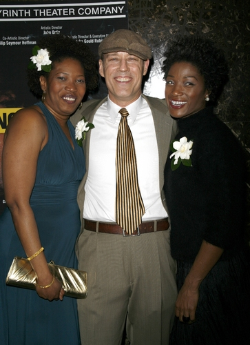 Saidah Arrika Ekulona, Kevin Greer and Yolanda Ross