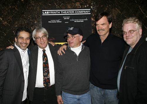 John Ortiz, John Gould Rubin, Frank Birtoli, George Liberato and Phillip Seymour Hoffman