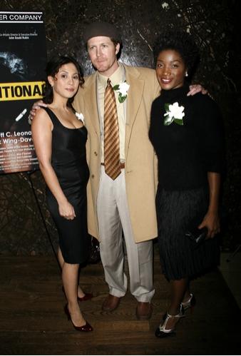 Elizabeth Rodriquez, Brett C. Leonard and Yolonda Ross