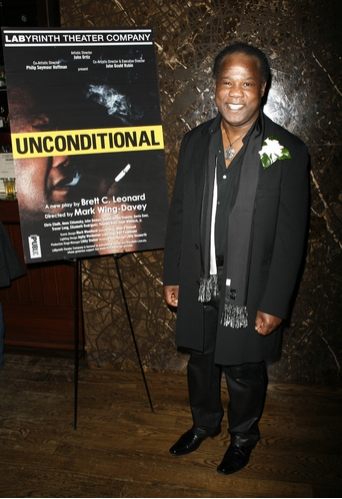 Isiah Whitlock Jr. at 'UNCONDITIONAL' Opening Night