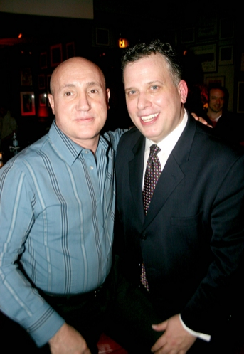Gianni Valente and Billy Stritch at Billy Stritch Sings Mel Tormé CD Release