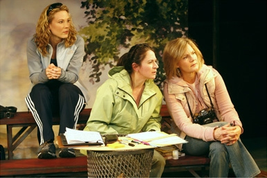 l-r: Caralyn Kozlowski, Deborah Sonnenberg and Nancy Ringham