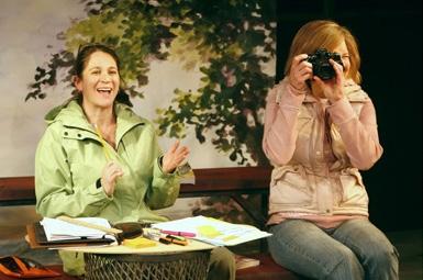 l-r: Deborah Sonnenberg and Nancy Ringham