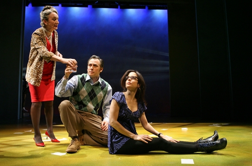 Kathleen Chalfant, David Aaron Baker and Mary-Louise Parker
